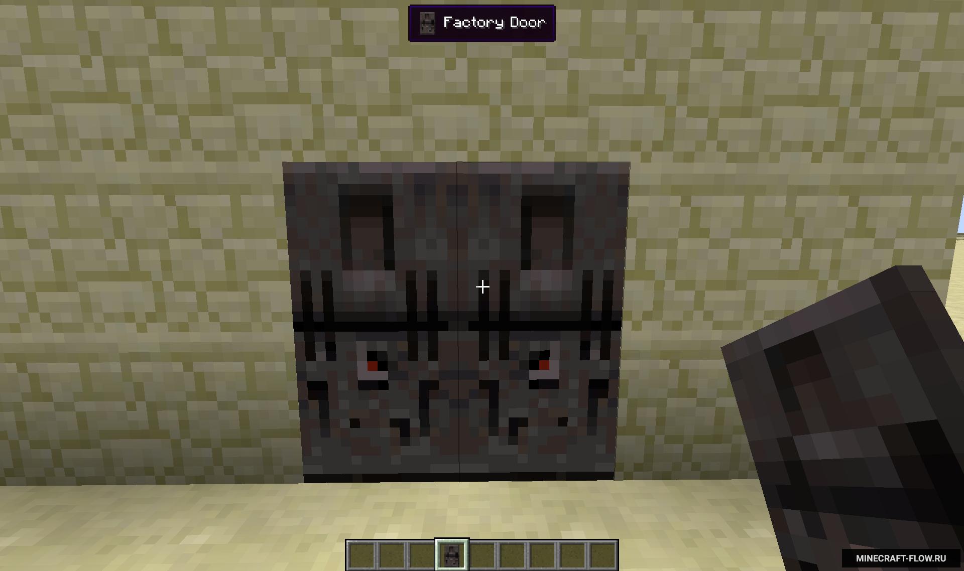 Мод на двери в Minecraft 1.12.2, 1.10.2, 1.11.2, 1.7.10 | MalisisDoors