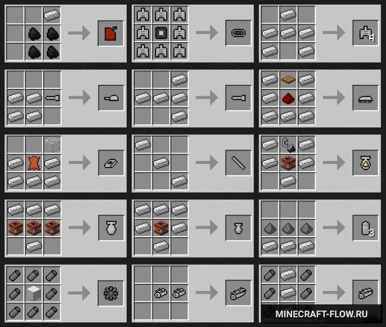 Мод simple guns на майнкрафт рецепты